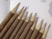 Eco wooden pencil---environmental booster