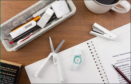 green office stationery