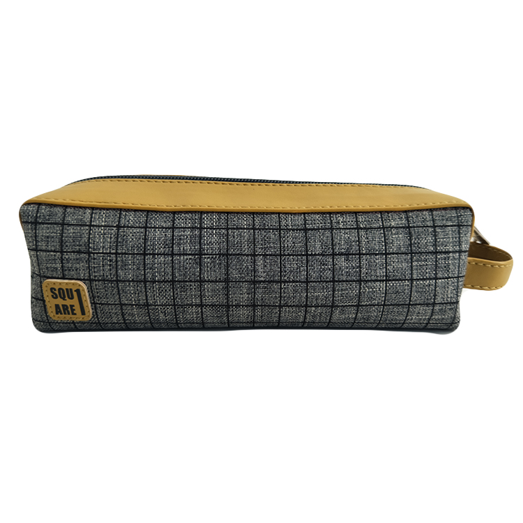85032 100% Recycled PET Fabric BTS Square Printed Pencil Case